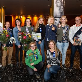 Wethouder Hilde Tjeerdema zet jonge vrijwilligers in het zonnetje!